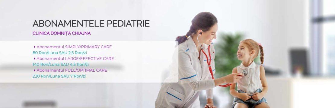 Abonamente Pediatrie