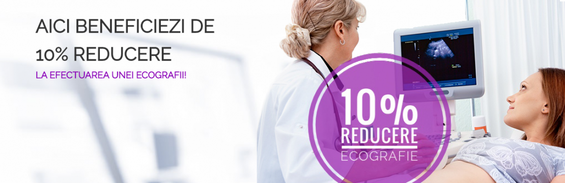 La Clinica Domnița Chiajna, beneficiezi de  10% REDUCERE la efectuarea unei ECOGRAFII!